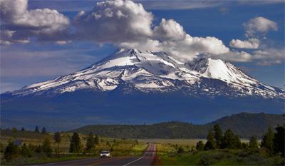 Mt Shasta Ca >> onderroad: Klamath Falls, OR, Mount Shast, CA and over the ...